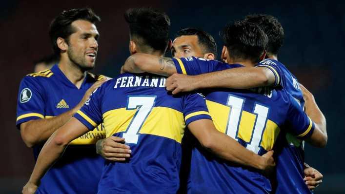 Formación de Boca vs. Independiente Medellín, por la Copa Libertadores