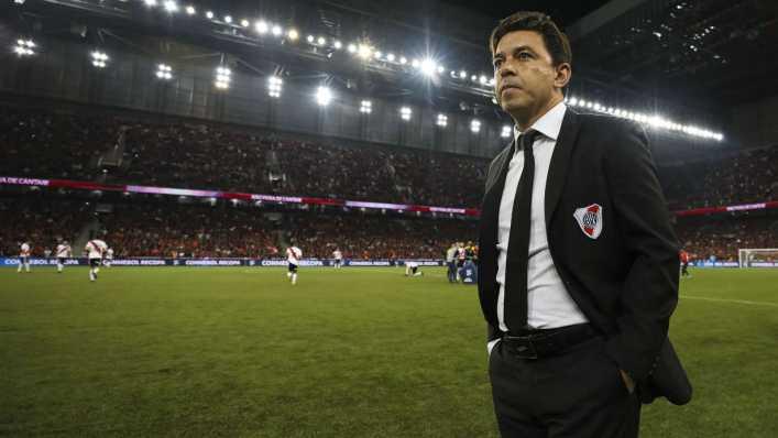 Gallardo se reencontró con los futbolistas de Boca