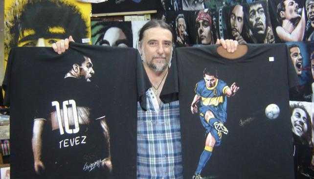 Ganate la camiseta con la imagen de Tevez