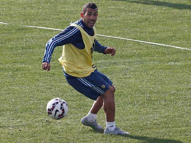 VIDEO: La genialidad de Carlitos Tevez en el entrenamiento de la Selección