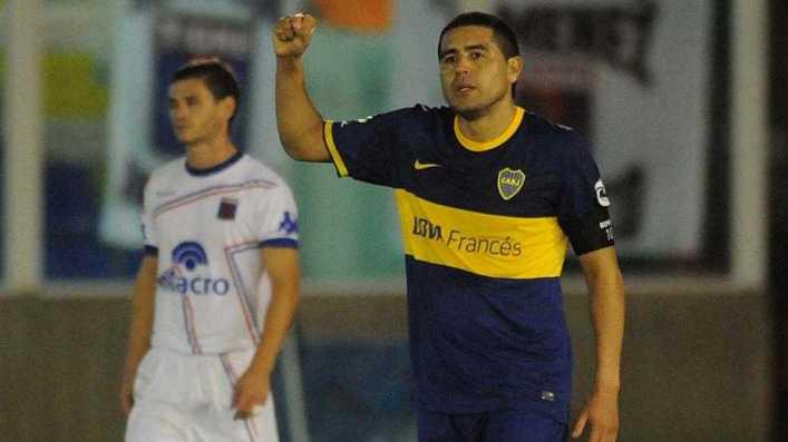 Sólo por una genialidad de Riquelme, Boca ganó en cancha de Tigre