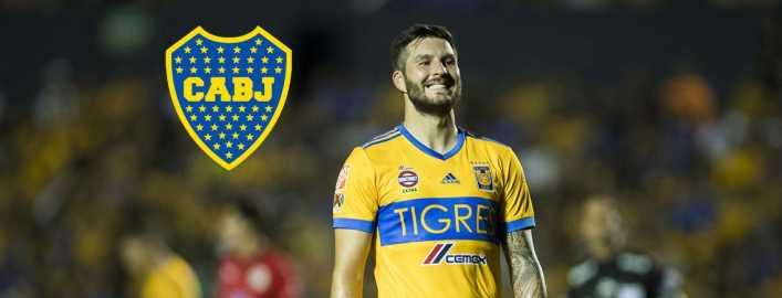 Gignac podría firmar con Boca Juniors