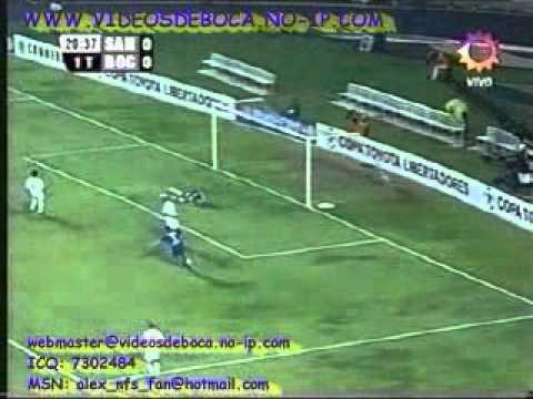 VIDEO: Gol de Tévez contra el Santos