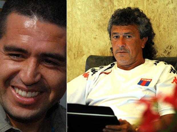 """Gorosito asumió con la idea de """"hacer sentir cómodo"""" a Riquelme"""
