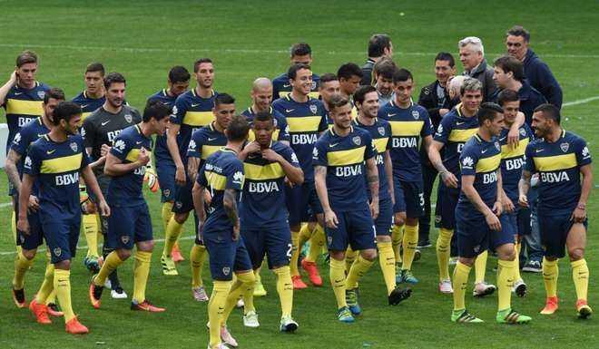 Grave lesión de un jugador de Boca