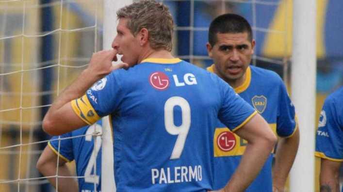 Grondona logró reunir a Palermo y Riquelme