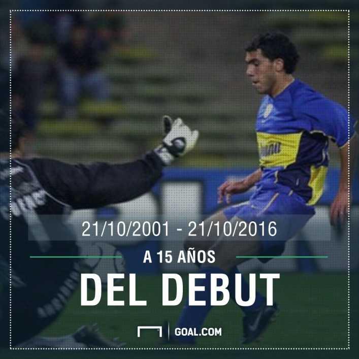 VIDEO: Hace 15 años Bianchi hacía debutar a Tevez en Boca contra Talleres