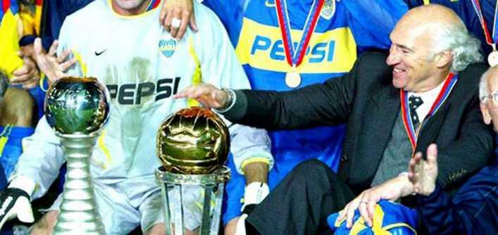 Hace 22 años Biancho debutaba como DT de Boca