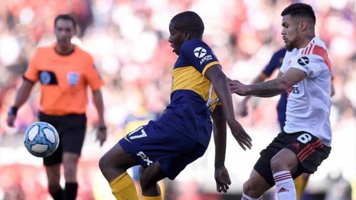 Hurtado: ¿El 9 de Boca Juniors contra River Plate?