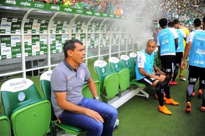 Insólito: Palmeiras perdió con Corinthians... y contra las abejas