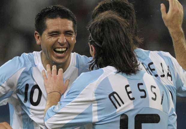 Juan Román Riquelme: Es la era de Lionel Messi