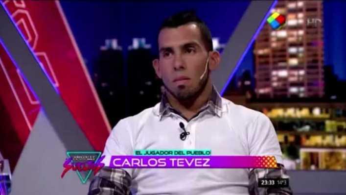 """Jugosa entrevista a Tevez en """"Animales Sueltos"""""""