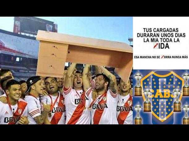 FOTOS: Boca Juniors bate a River Plate a punta de memes