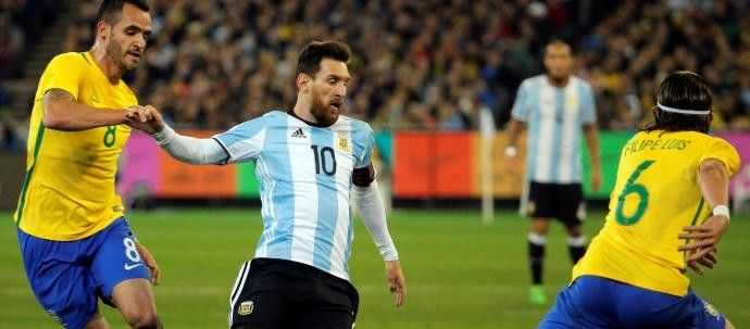 La Argentina de Sampaoli se estrena ganando a Brasil