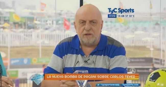 """VIDEO: La """"bomba"""" de Pagani: contó por qué Tevez no fue al Mundial de Brasil"""
