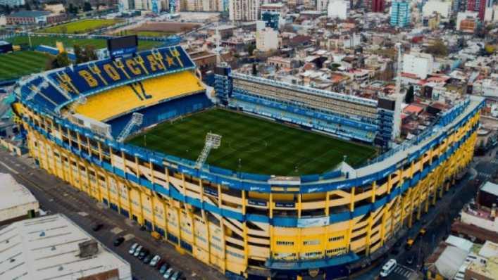 La Bombonera, candidata para la final de la Copa Libertadores 2021