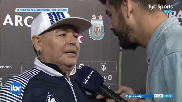 La desopilante respuesta de Maradona sobre Riquelme
