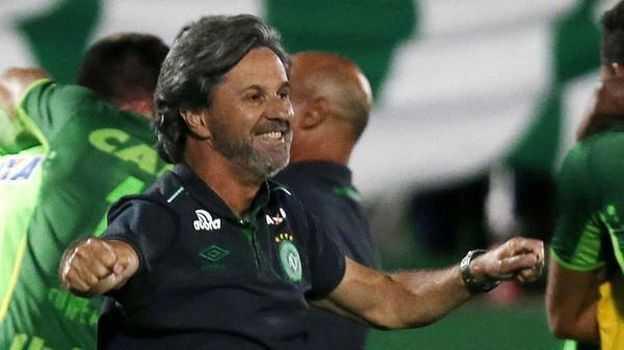 La escalofriante frase del entrenador de Chapecoense tras clasificar a la final