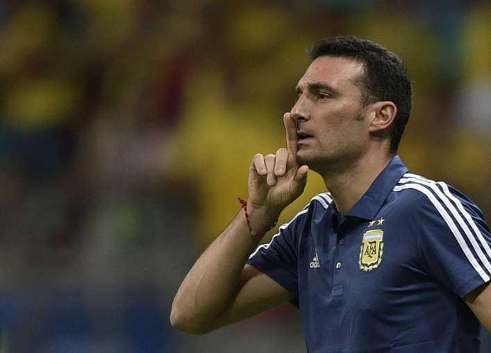 La excusa de Scaloni tras la derrota ante Colombia