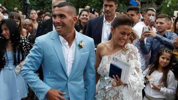 La gran historia de amor de Carlos Tevez y Vanesa Mansilla