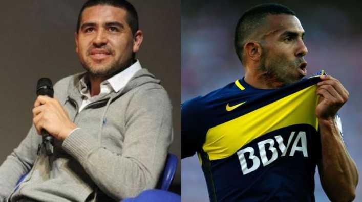 La propuesta de Riquelme a Tevez para cuando decida retirarse de Boca