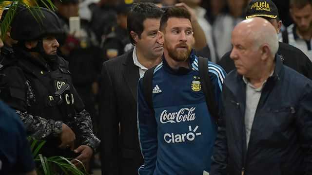 LA SELECCION ARGENTINA SE INSTALO EN GUAYAQUIL