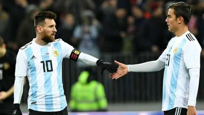 La sociedad frustrada entre Messi y Dybala
