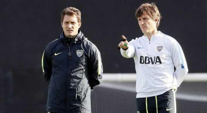 Las pruebas de Schelotto para el partido Boca-Independiente
