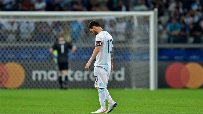 Leo Messi salva a Argentina de otro ridículo