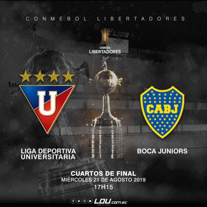 Liga de Quito vs Boca Juniors