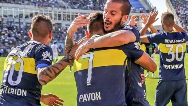 Lo sabía: mirá qué pasó con Pavón antes del triunfo de Boca en San Juan