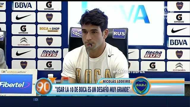 "Lodeiro: ""La 10 va a ser siempre de Riquelme"""