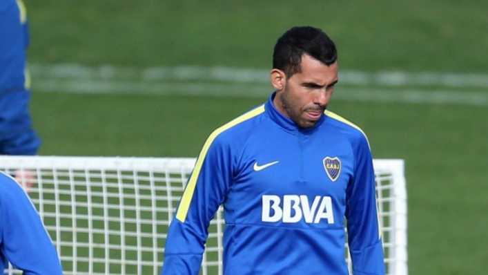 VIDEO: Los goles de Tevez en la práctica