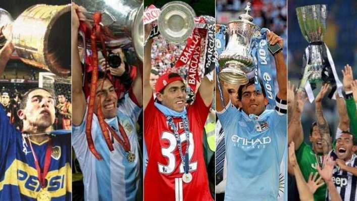 VIDEO: Los mejores goles de Tévez de 2001 a 2015