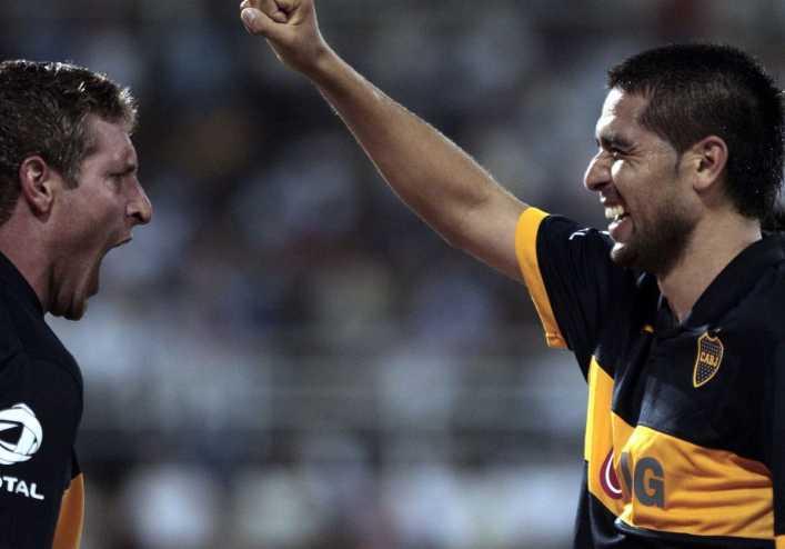 Los récords de Riquelme y Palermo en la Bombonera