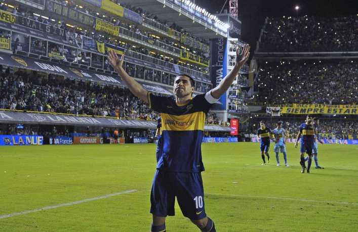 VIDEO: Los últimos 5 goles de Riquelme en Boca Juniors