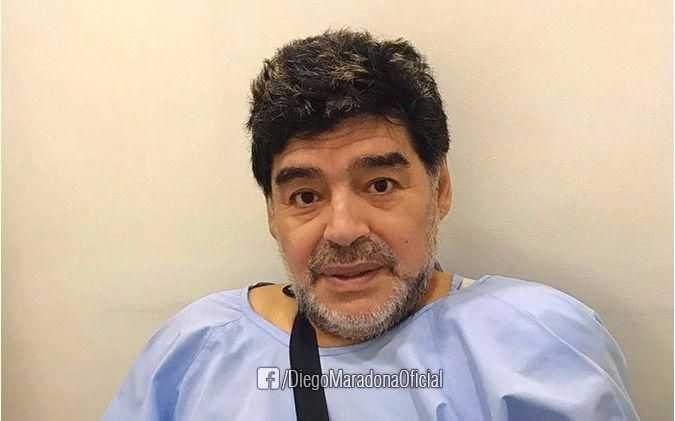 Maradona fue operado con éxito en Dubai