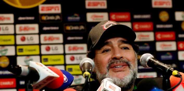Maradona: La llegada de De Rossi me llenó el alma