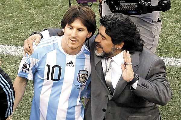 Maradona quiere dirigir otra vez a la albiceleste