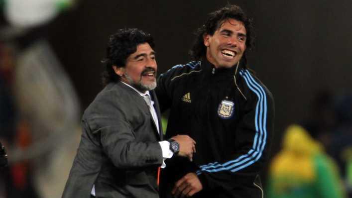 Maradona: Tevez no traiciona