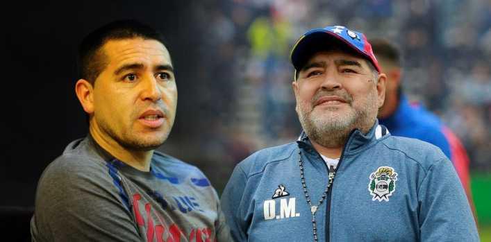 Maradona versus Riquelme