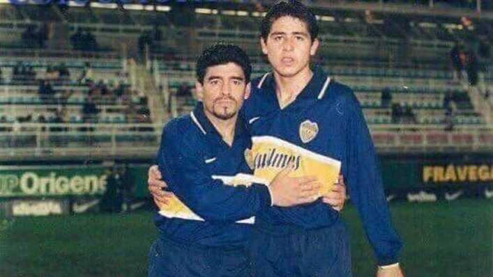 Maradona volvió a criticar a Riquelme