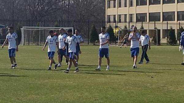 Martino probó dos equipos sin Messi
