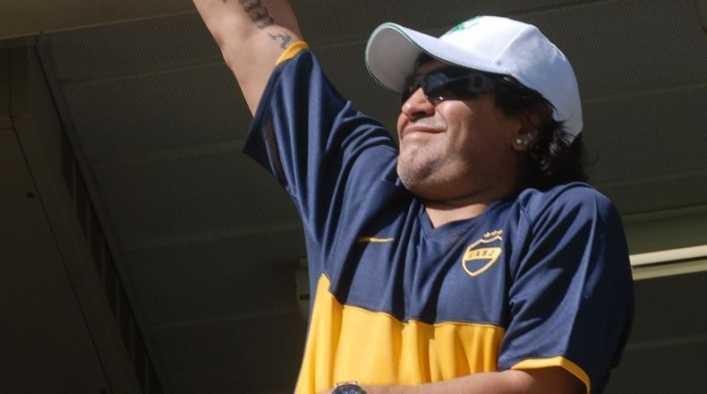 ¡Más bostero imposible! El deseo de Maradona para River en Libertadores