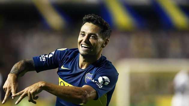 Mauro Zárate, el goleador de la era de Gustavo Alfaro en Boca