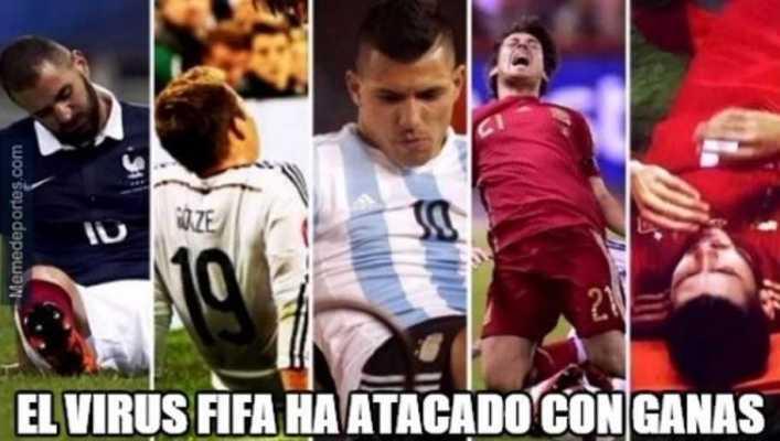 FOTOS: Los mejores memes del virus FIFA