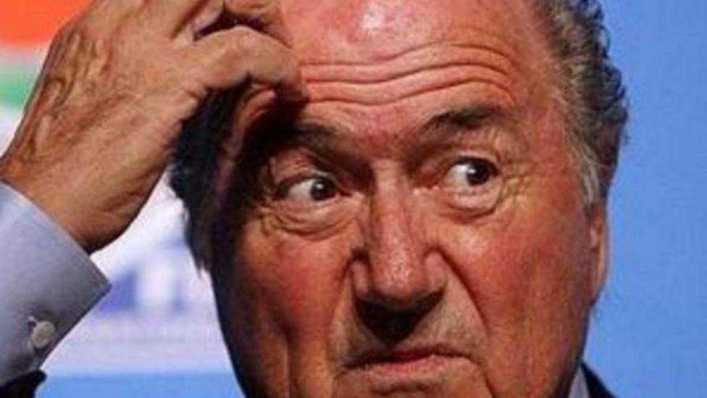 Los memes y cargadas a River por el furcio de Blatter en el Mundial de Clubes