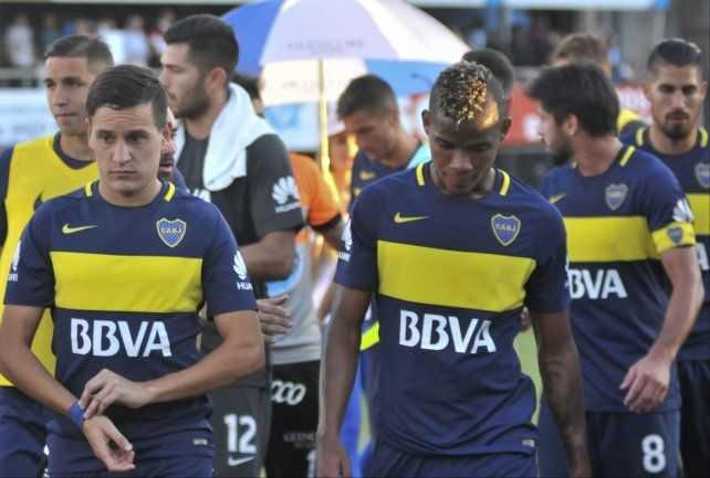 Mirá cómo dejó Boca el vestuario tras el empate ante Rafaela