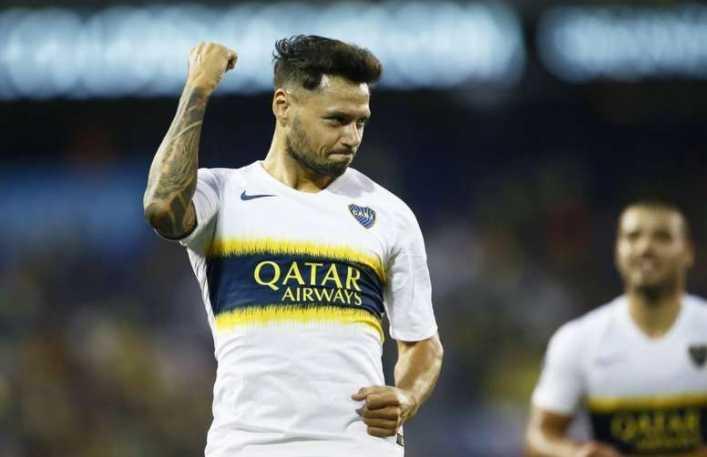 Modo Mateo Messi: Hijo de Zárate vibró al ritmo de los hinchas de Boca