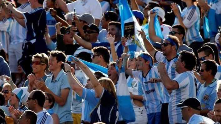 VIDEO: El nuevo hit de la hinchada Argentina